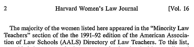 Harvard Women's Law Journal - Women of Color p2